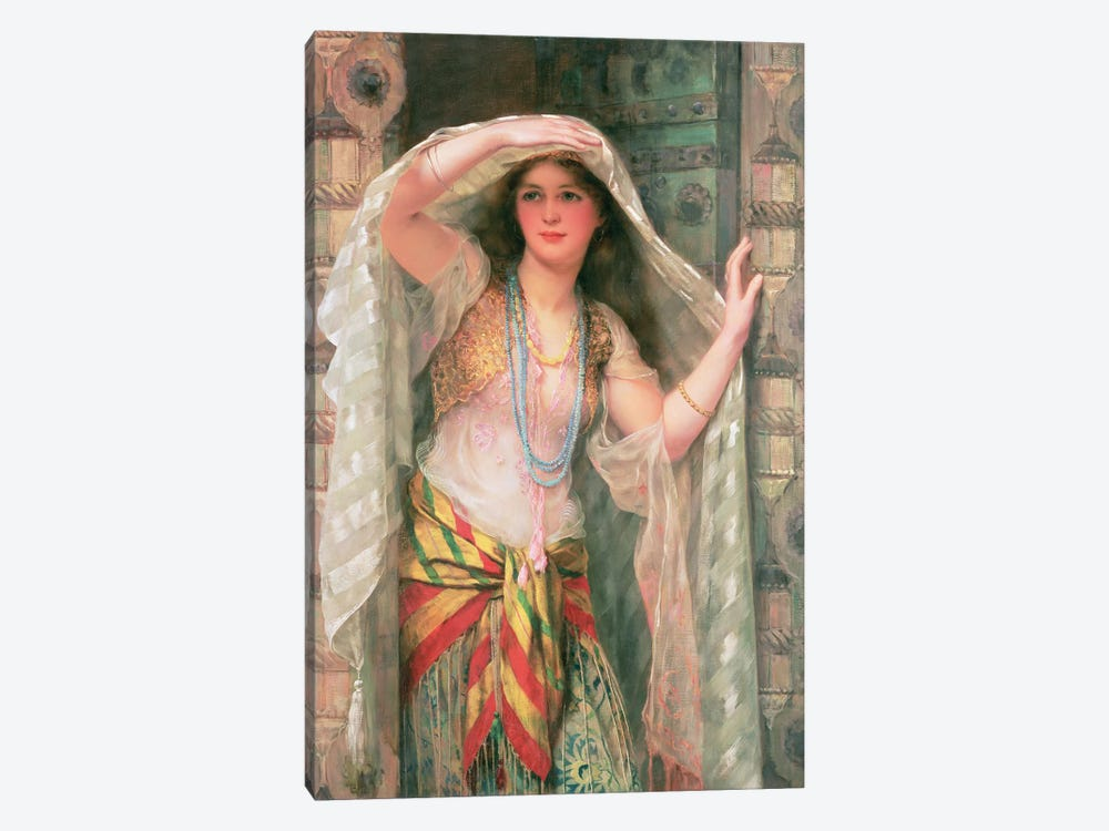 Safie, 1900  by William Clark Wontner 1-piece Canvas Art