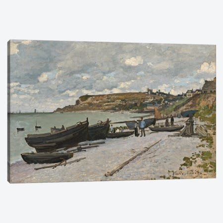 Sainte-Adresse, 1867  Canvas Print #BMN4252} by Claude Monet Canvas Print
