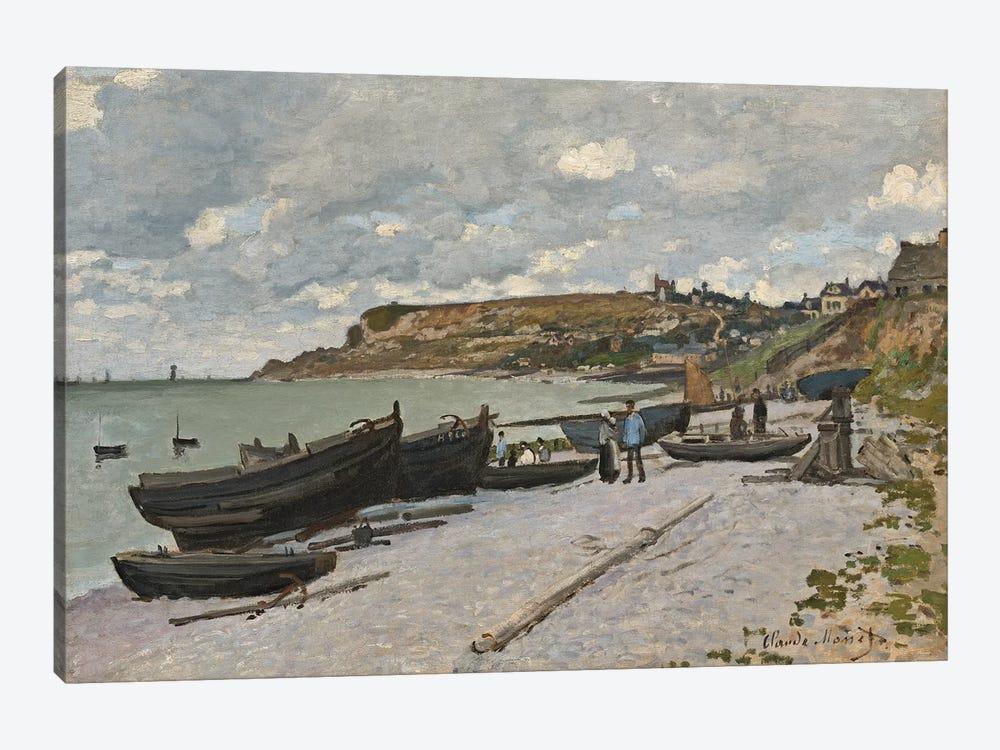 Sainte-Adresse, 1867  by Claude Monet 1-piece Canvas Print