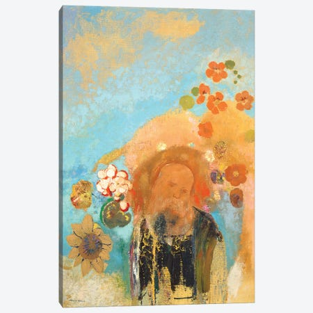 Evocation of Roussel, c. 1912  Canvas Print #BMN4255} by Odilon Redon Canvas Wall Art