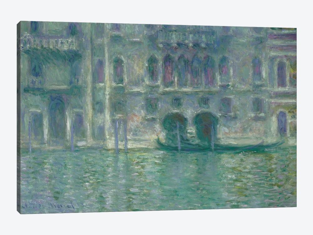 Palazzo da Mula, Venice, 1908  by Claude Monet 1-piece Canvas Artwork