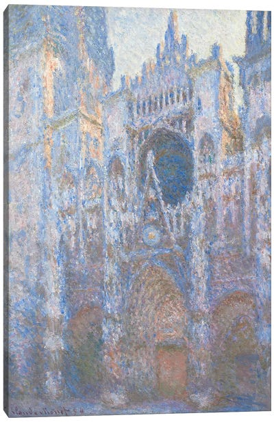 Rouen Cathedral, West facade, 1894  Canvas Print #BMN4260