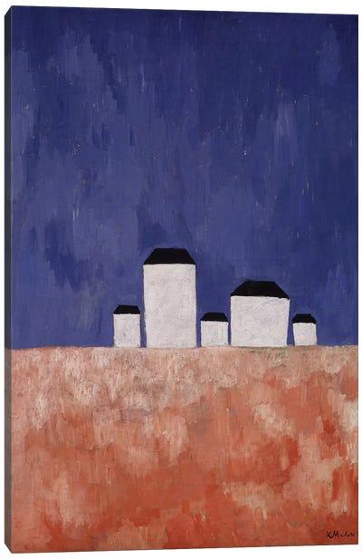 Landscape with Five Houses, c.1932  Canvas Art Print