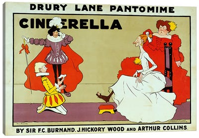Poster for 'Cinderella' Canvas Print #BMN429