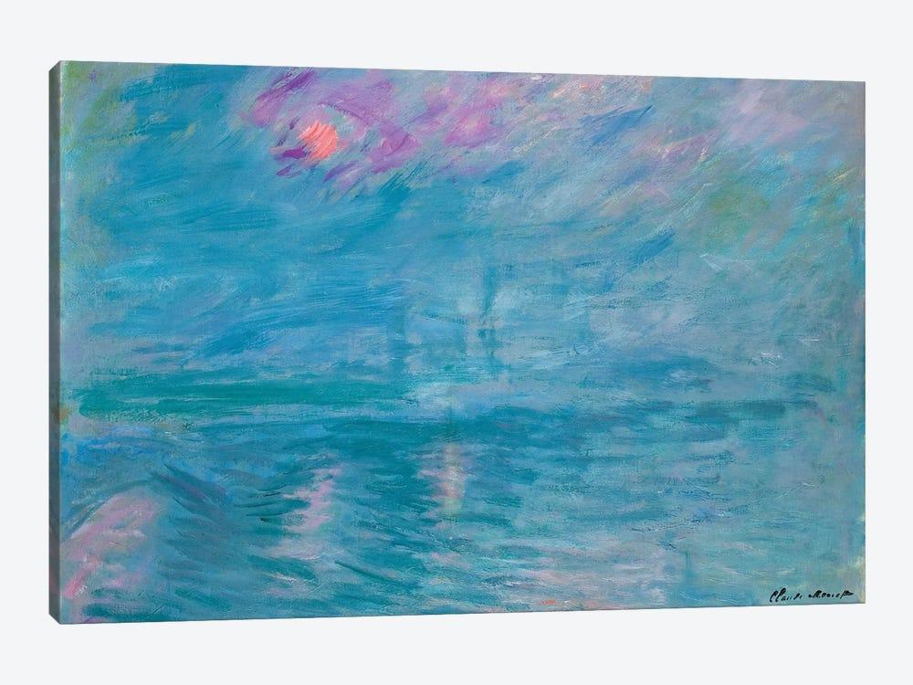 Waterloo Bridge, 1899-1903  by Claude Monet 1-piece Canvas Art