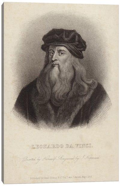Leonardo da Vinci  Canvas Print #BMN4340