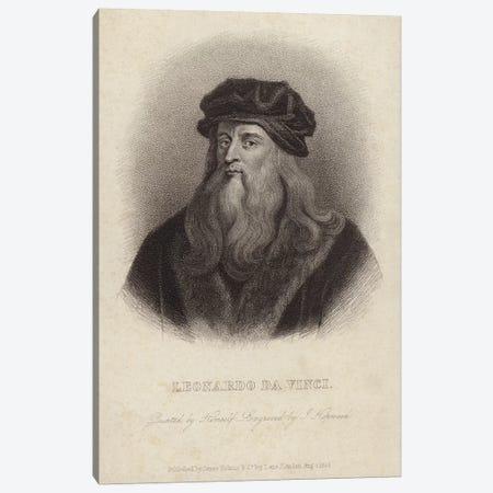 Leonardo da Vinci  Canvas Print #BMN4340} by Leonardo da Vinci Art Print