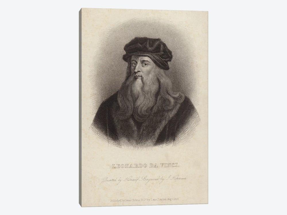 Leonardo da Vinci  by Leonardo da Vinci 1-piece Canvas Art Print