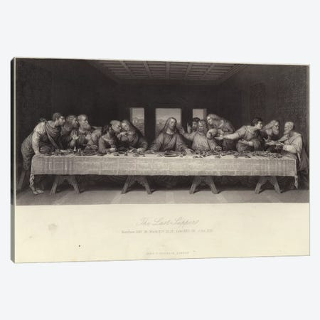 The Last Supper  Canvas Print #BMN4341} by Leonardo da Vinci Canvas Art Print