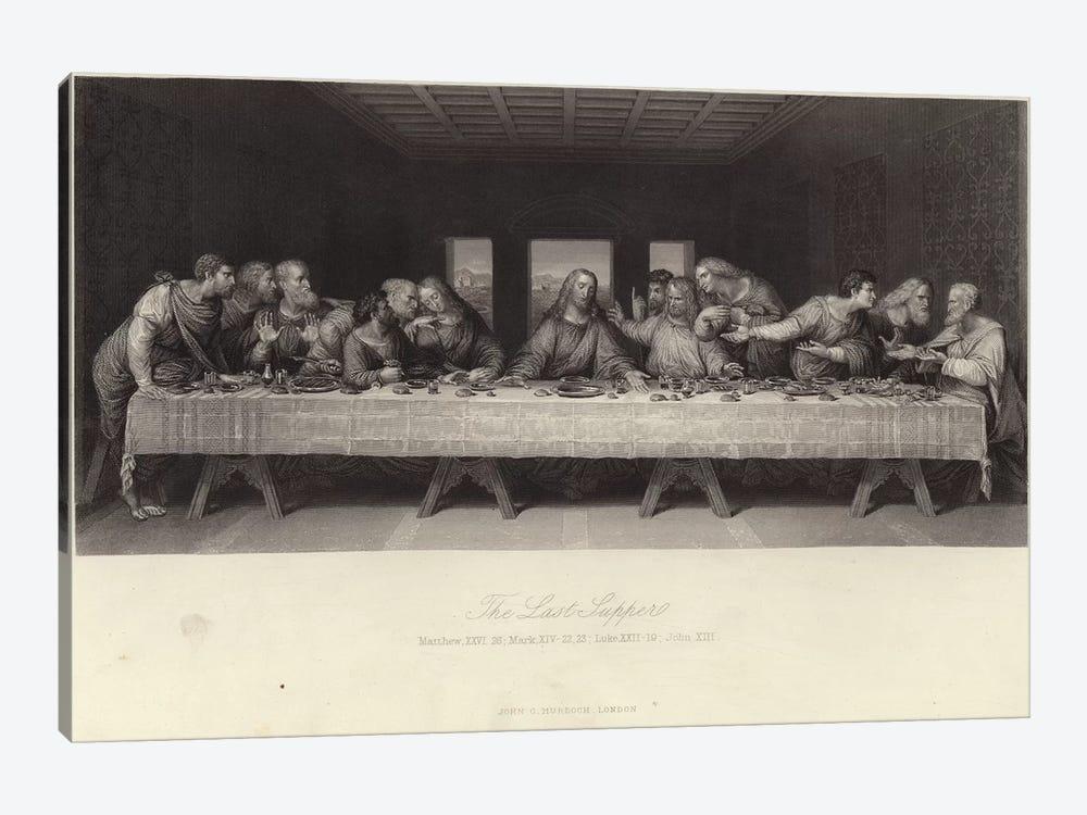 The Last Supper  by Leonardo da Vinci 1-piece Canvas Wall Art