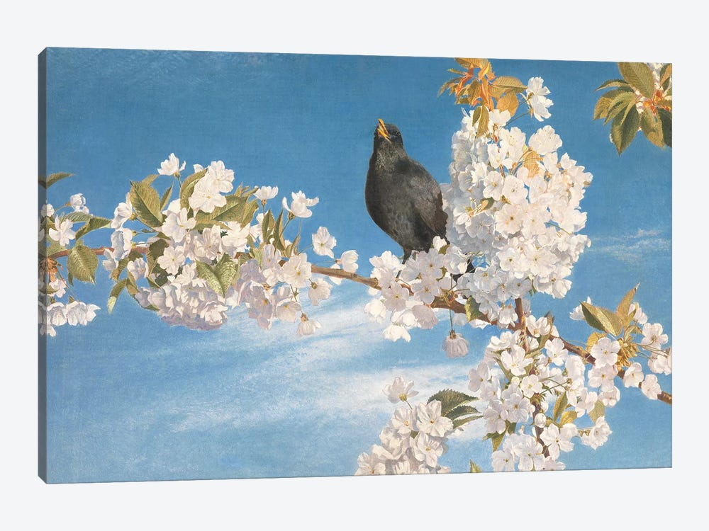A Voice of Joy and Gladness  by John Samuel Raven 1-piece Canvas Art Print