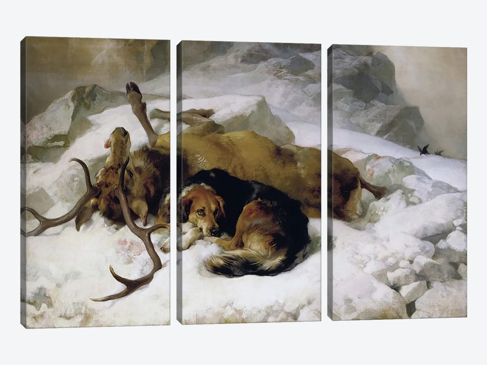 Chevy, 1868  by Sir Edwin Landseer 3-piece Art Print