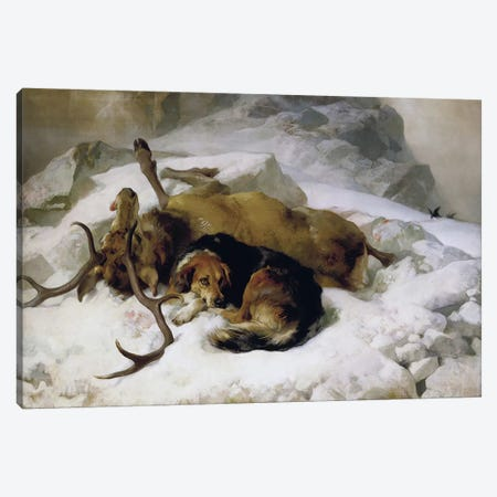 Chevy, 1868  Canvas Print #BMN4359} by Sir Edwin Landseer Canvas Wall Art