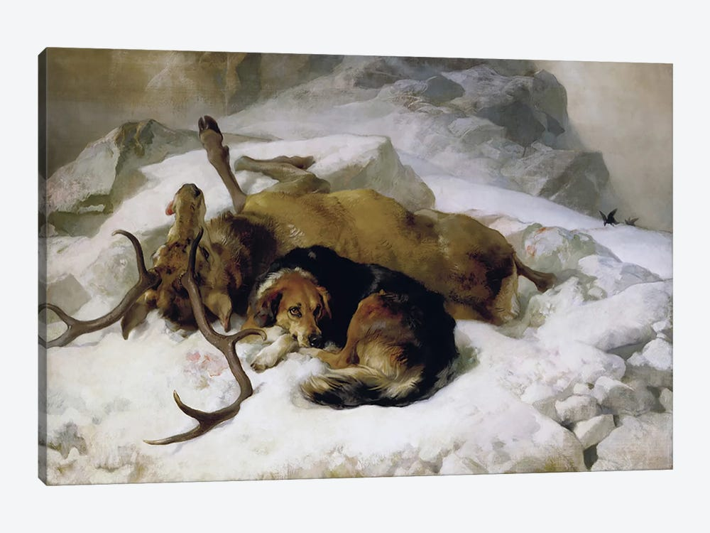 Chevy, 1868  by Sir Edwin Landseer 1-piece Art Print