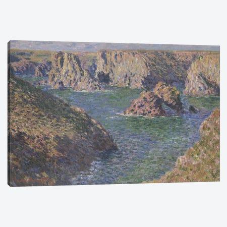 Port-Domois, Belle-Isle, 1887  Canvas Print #BMN4366} by Claude Monet Canvas Art