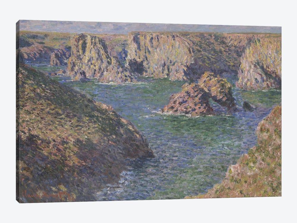 Port-Domois, Belle-Isle, 1887  by Claude Monet 1-piece Art Print