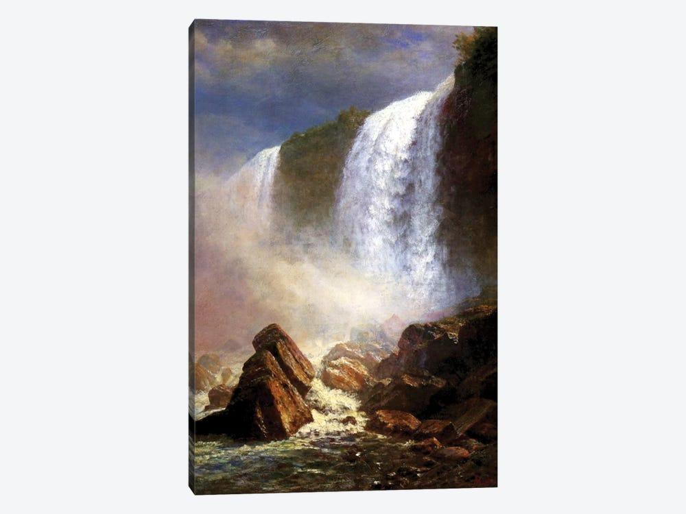 The Niagara Falls  by Albert Bierstadt 1-piece Canvas Wall Art
