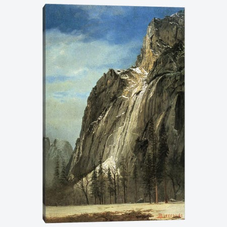 Cathedral Rocks, Yosemite, c.1872  Canvas Print #BMN4403} by Albert Bierstadt Canvas Art