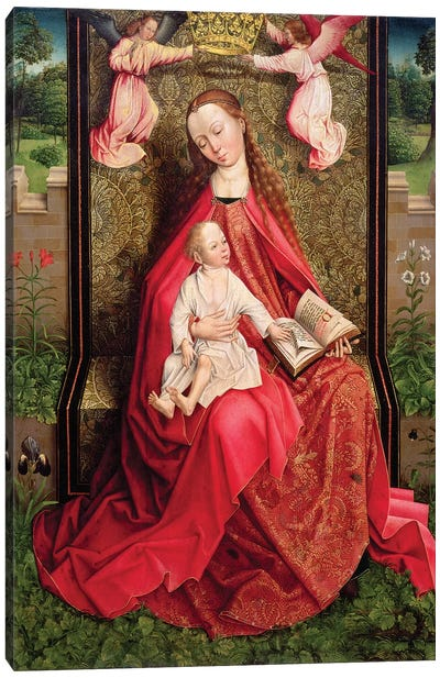 Virgin and Child  Canvas Art Print