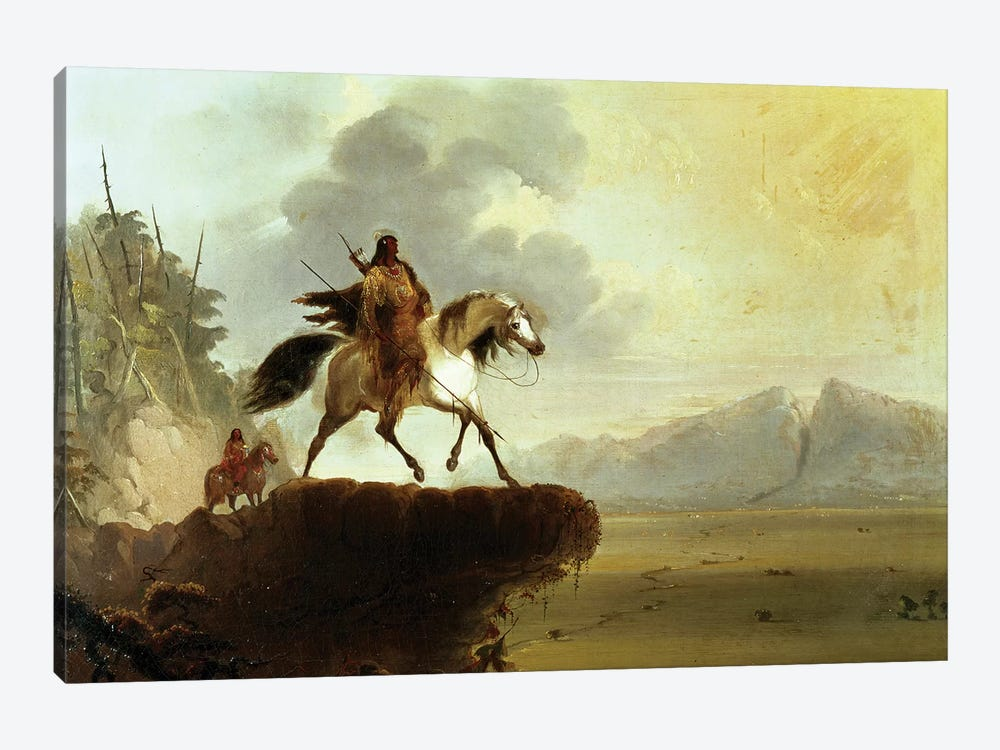 Snake Indians  by Alfred Jacob Miller 1-piece Art Print
