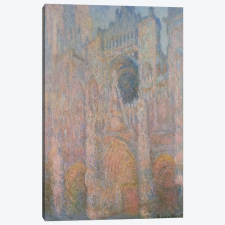 Rouen Cathedral, 1891 Canvas Print #BMN4422} by Claude Monet Canvas Art