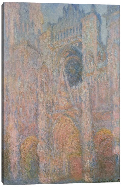 Rouen Cathedral, 1891 Canvas Print #BMN4422