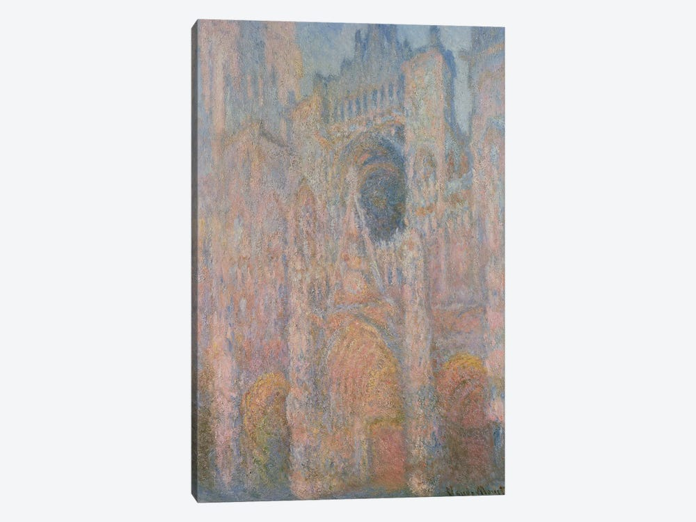 Rouen Cathedral, 1891 1-piece Canvas Artwork