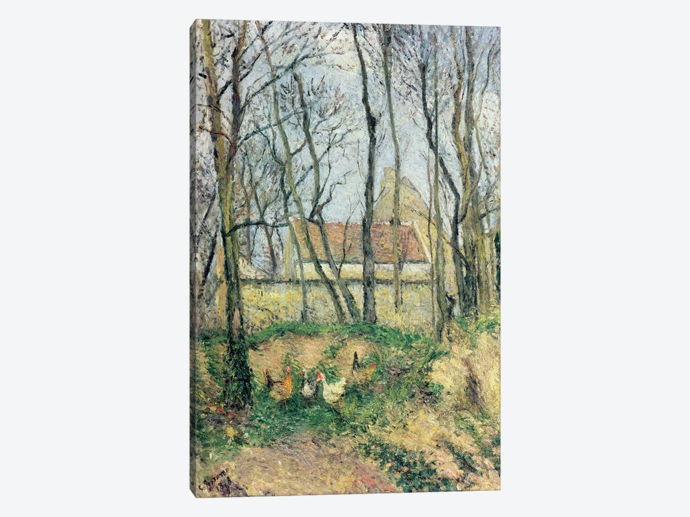 The Path of the Wretched, 1878 by Camille Pissarro 1-piece Art Print
