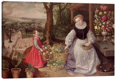 Spring, 1595  Canvas Art Print