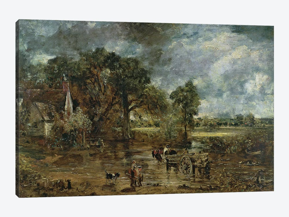 Full scale study for 'The Hay Wain', c.1821  by John Constable 1-piece Canvas Art