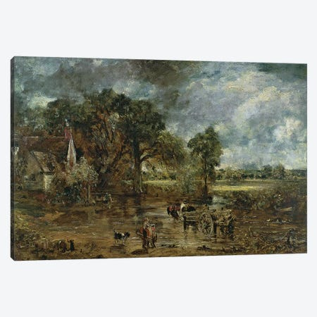 Full scale study for 'The Hay Wain', c.1821  Canvas Print #BMN4451} by John Constable Art Print