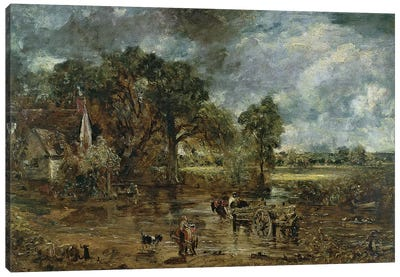 Full scale study for 'The Hay Wain', c.1821  Canvas Art Print