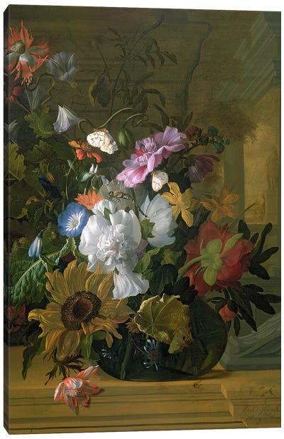 Flower Still Life Canvas Art Print