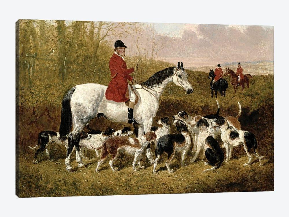 The Start by John Frederick Herring Jr 1-piece Canvas Art
