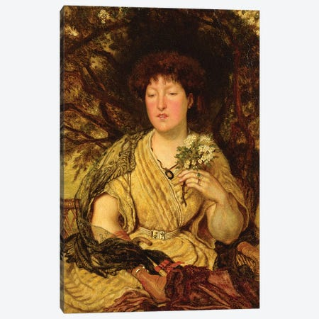 May Memories  Canvas Print #BMN4471} by Ford Madox Brown Canvas Print