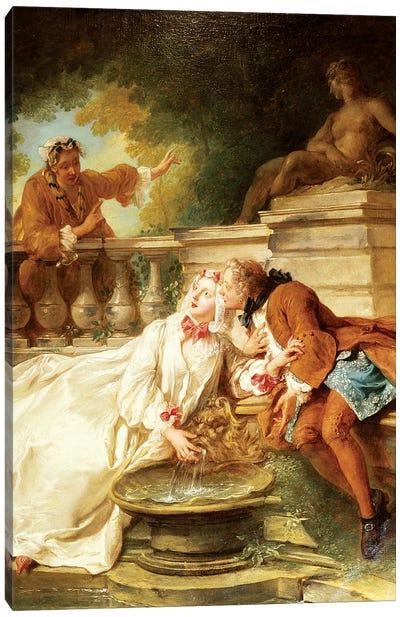 The Alarm, 1723  Canvas Art Print