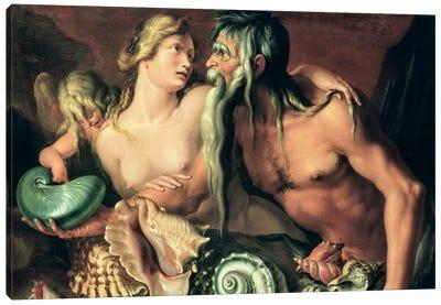 Neptune and Amphitrite  Canvas Art Print