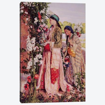 Lilium Auratum  3-Piece Canvas #BMN4486} by John Frederick Lewis Canvas Print