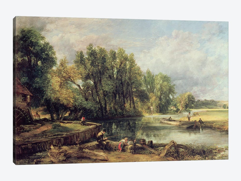 Stratford Mill by John Constable 1-piece Canvas Art