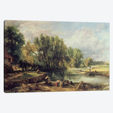 Stratford Mill Canvas Print #BMN4493} by John Constable Canvas Art Print