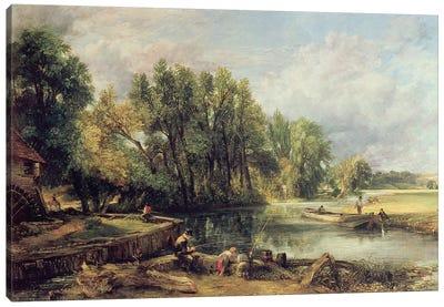 Stratford Mill Canvas Art Print