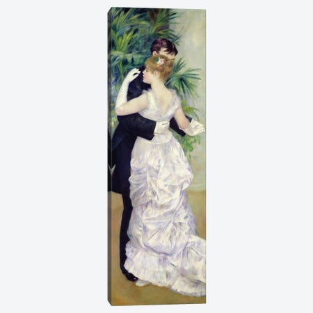 Dance in the City, 1883  Canvas Print #BMN450} by Pierre-Auguste Renoir Art Print