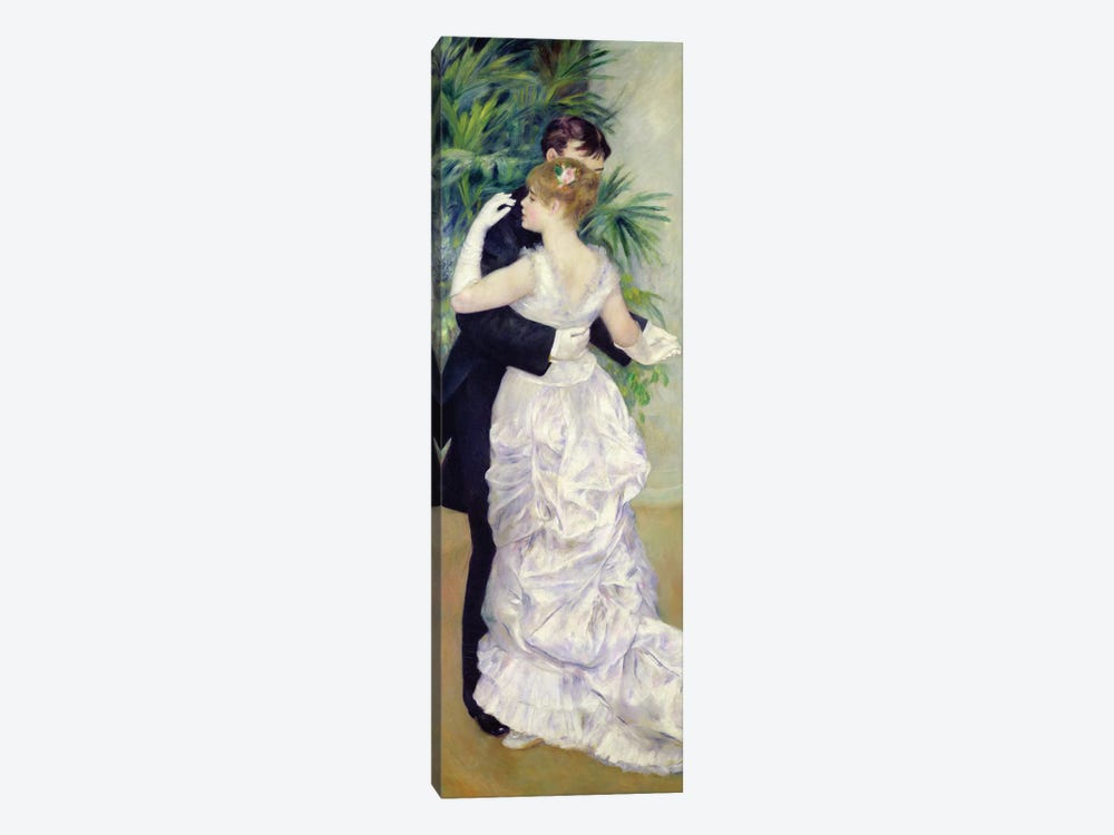 Dance in the City, 1883  by Pierre-Auguste Renoir 1-piece Canvas Print