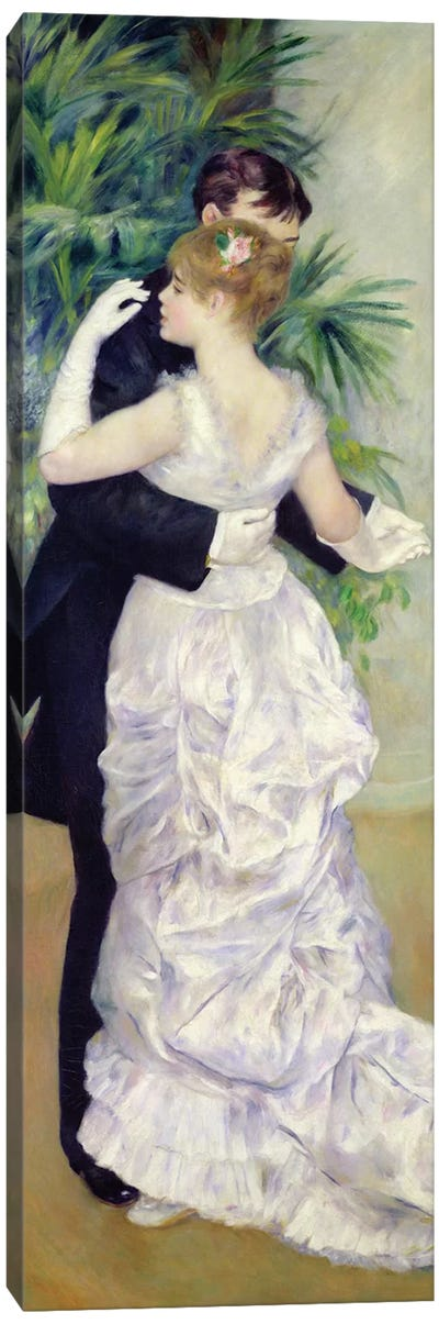 Dance in the City, 1883  Canvas Art Print