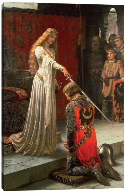 The Accolade, 1901  Canvas Art Print