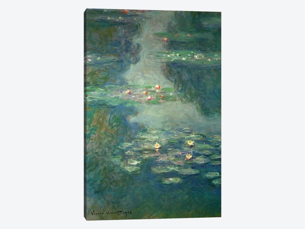 Waterlilies, 1908  by Claude Monet 1-piece Canvas Artwork