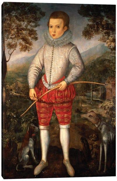 Portrait of a Boy  Canvas Art Print