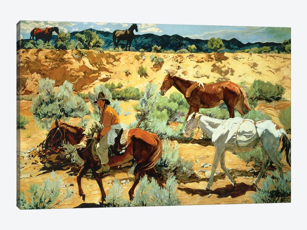 The Southwest  by Walter Ufer 1-piece Canvas Art