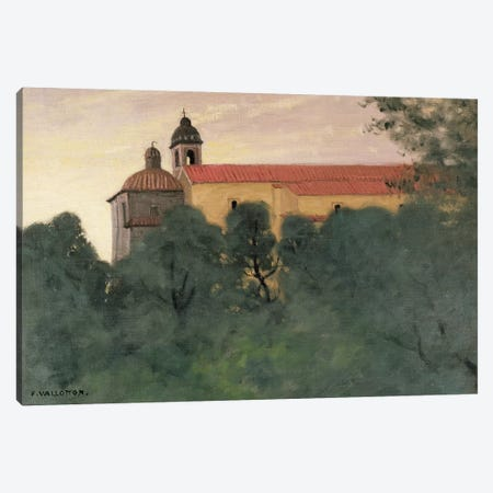 Landscape at Perouse Canvas Print #BMN4528} by Felix Edouard Vallotton Art Print