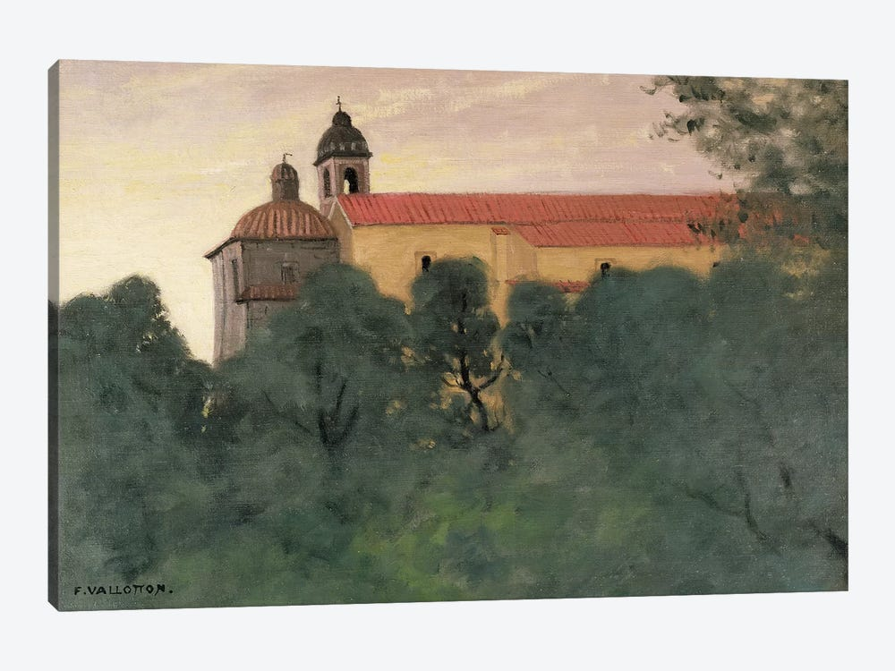 Landscape at Perouse by Felix Edouard Vallotton 1-piece Art Print